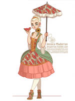 Character Design Challenge - Baroque Aristocracy by MeoMai