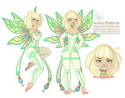 Character Design - Tinkerbell by MeoMai
