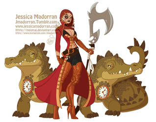 Character Design - Hook, Tic, and Toc by MeoMai