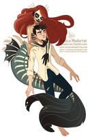 Drawlloween - Little Mermaid with a Twist by MeoMai