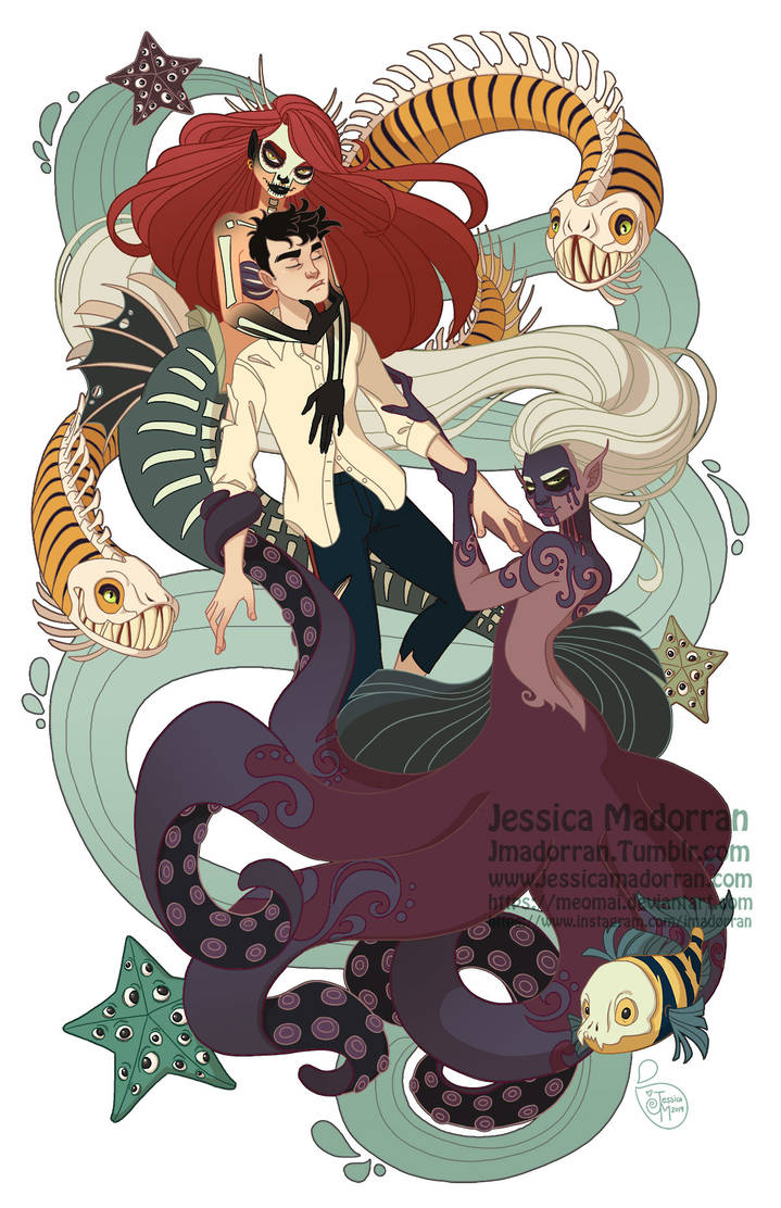 Twisted Story - Little Mermaid by MeoMai