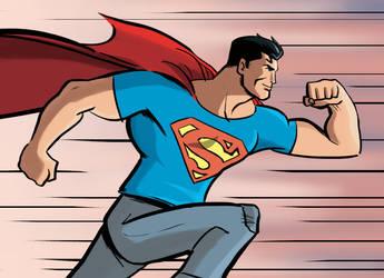 action comics by Benjaminjuan