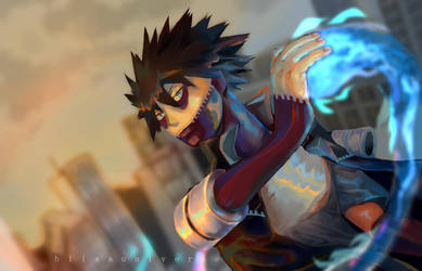 Dabi WIP by blissuniverse