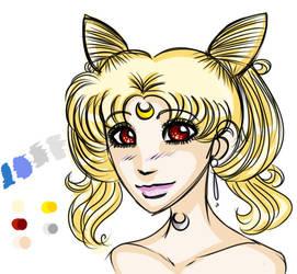 Queen Selenity I - ref by elila