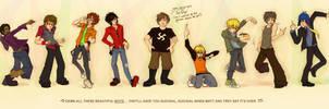 South Park: Beautiful Boys by Kinky-chichi