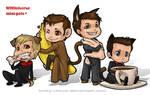 WHOniverse Mini-pets by Kinky-chichi