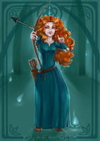 Princess Merida by Kinky-chichi