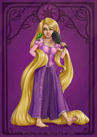 Princess Rapunzel by Kinky-chichi