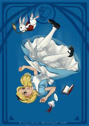 Alice in Wonderland by Kinky-chichi