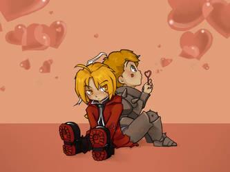 :Ed + Al love: V-day extra by Kinky-chichi