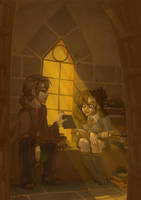 Library Geeks by Kinky-chichi