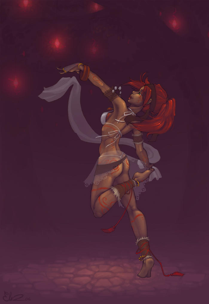 Tribal Dance by Kinky-chichi