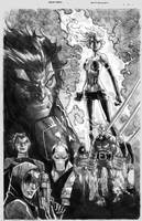 Age of a pocalypse 1 pencil work by elramos