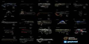 [DL] DOOM Weapons (Ragdolls) by Stefano96