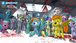 [DL] Enhanced Background Ponies (bat version) by Stefano96