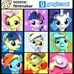 [DL] Enhanced Pony Heads by Stefano96