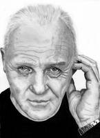 Sir Anthony Hopkins by Dabull04