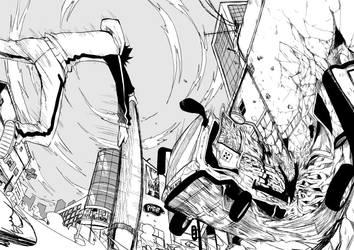 Fighting Scene by eliasuke