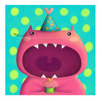 .lil pinkeii monster. by iMais