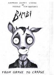 Tim Burton's Bambi by kamran-julfa
