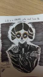 Inktober Day 11 Cruel by Roquer0