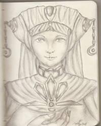 Priestess by Roquer0