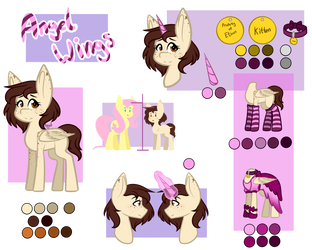 Angel Wings Ref (2018) by AnimeAngel120
