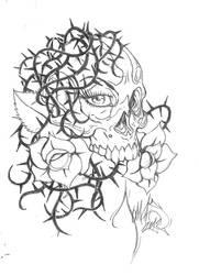 Skull tatoo by tdm-studios