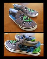custom minecraft shoes by tdm-studios