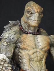 Reptilian Shinobi Agent R by tdm-studios