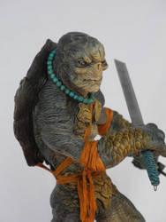 TMNT Reptilian Shinobi Agent L by tdm-studios