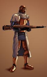 Rifleman by likaspapaya