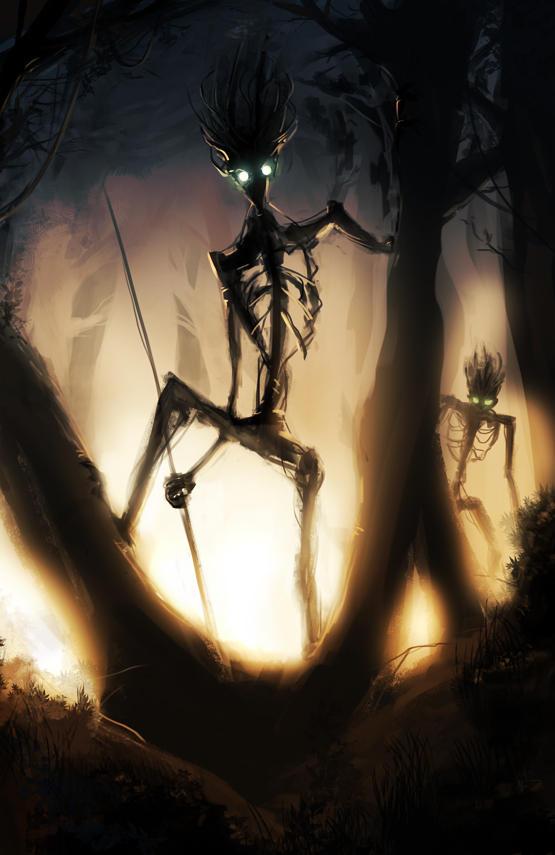 Sentinels of the Old Woods by likaspapaya