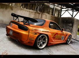 Mazda 'REX' Cwings Demo Car by Gurnade