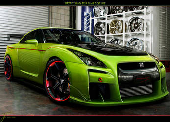 Nissan GTR by Gurnade