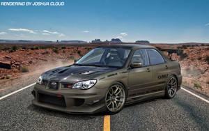 Voltex Subaru WRX STi by Gurnade