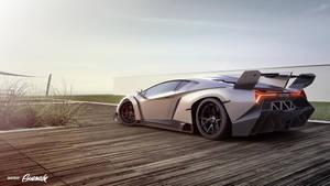 Lamborghini Veneno by Gurnade