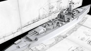 Graf Spee : Tutorial-WIP 4 by voutlooz