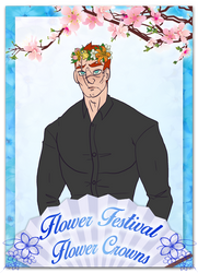 [PT] Flower Crown Meme by DoublePensword