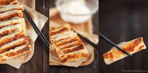 Chinese Dumplings by peachjuice