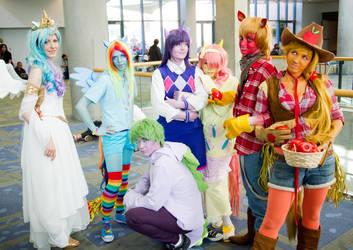 Ponies Crew by SparksMcGhee