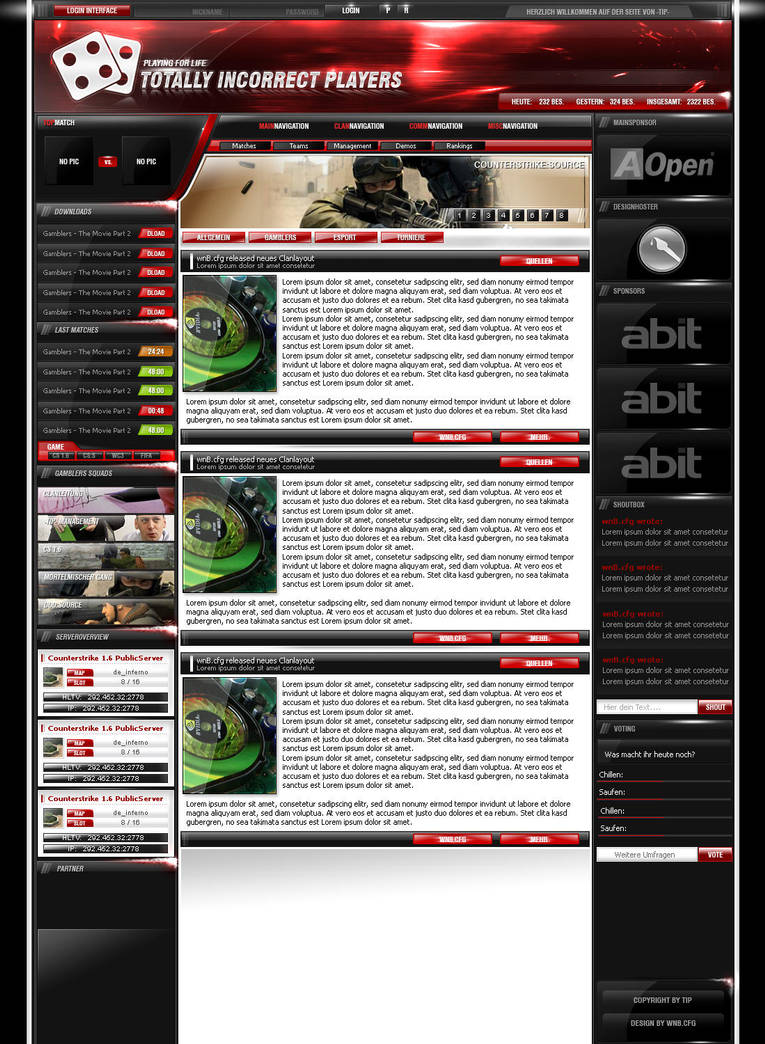 Gamblers Clanlayout SOLD Upd. by wnB91