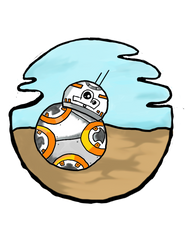 BB-8 by Kay-TrickPie