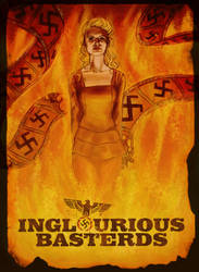 Inglourious Basterds by lyssaspex