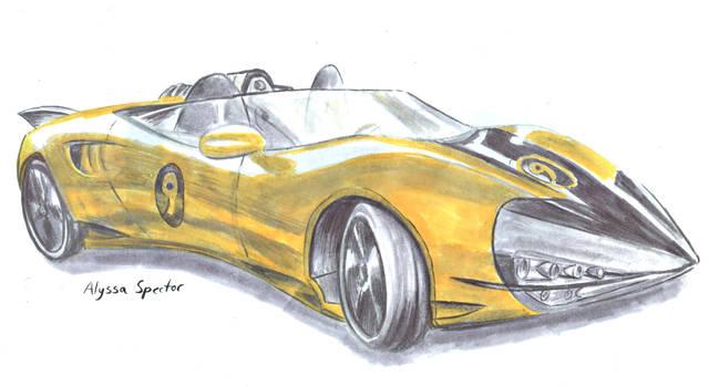 Racer X's Shooting Star by lyssaspex