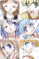Pokemon Girls by TsuriKato