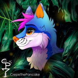 Crepe Headshot by CrepeThePancake