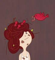 Hair Nest by AnnekaTran