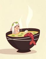 Miso Mermaid by AnnekaTran