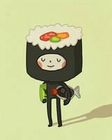 Sushi Boy by AnnekaTran
